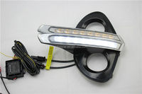 Popular Style Serviceable Car Accessory Long Range LED DRL Daytime Running Lights For Toyota Crown 2012-2014