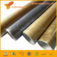 PVC Book Cover Roll Wood Grain