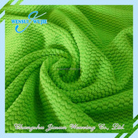 Colorful 100%polyester Jacquard absorbing and quick-drying fabric
