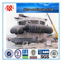 ship lifting and floating marine rubber air tube /air pontoon / air gasbag
