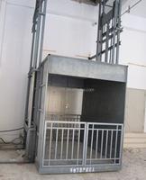 easy installation China cheap hydraulic used cargo elevator