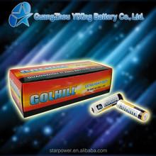 Um3 size aa zinc carbon 1.5v battery r6