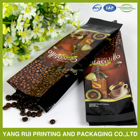 Coffee sachet coffee package with valve