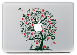 Hot for sticker macbook, for macbook decorative decal sticker, promotional products 2015 Christmas
