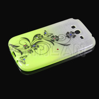 2014 Hot Selling Gradient Color Flower Pattern Design Soft TPU Fancy Protective Case for Galaxy Grand Duos i9082