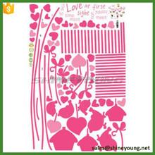 çıkarılabilir vinil ev duvar sticker/duvar çıkartma fotoğraf çerçevesi soy ağacı
