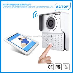 2015 smart home products NEW design Shenzhen ACTOP wireless door phone