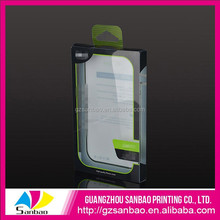 Factory price custom acetate clear phone case packaging plastic packaging product