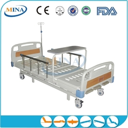 MINA-MB3213 patient bed 3-function stainless steel lab stool