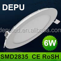 Big Promotion!!! Round small size slim led panel light with ce & rosh Driver