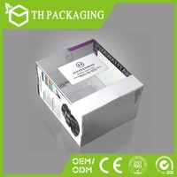 Printing plastic packaging box for gift&craft