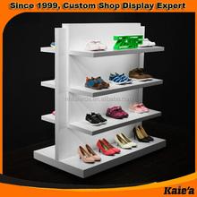 Sport Store Metal Shoe Racks For Shops Display