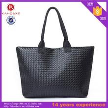 Fashion Women PU Leather Handbag,Tote Shoulder Bags large Capacity PU Weave Bags