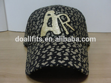 The whole gold print golf cap The whole gold print golf baseball hat