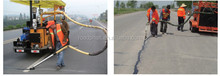 Roadphalt rubberized hot melt bitumen crack filler