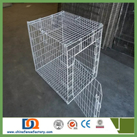 wire Gauge: 11#,12#,13# Size: 24L*18W*19H inch Anping modular dog cage