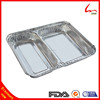 Disposable Divided Aluminum Foil Container For Food Serving