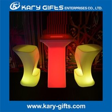 2015 hot sale Remote control Glowing LED Bar Stool