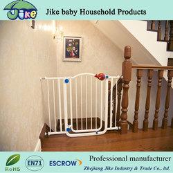 Walk Thru Gate Bronze Easy Baby Pet Wide Toddler Infant Dog Door Safety Tall Gate