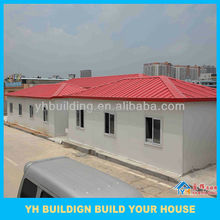 small and luxury design durable prefab house for home,office
