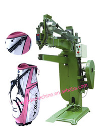 Fully automatic golf bag riveting machine