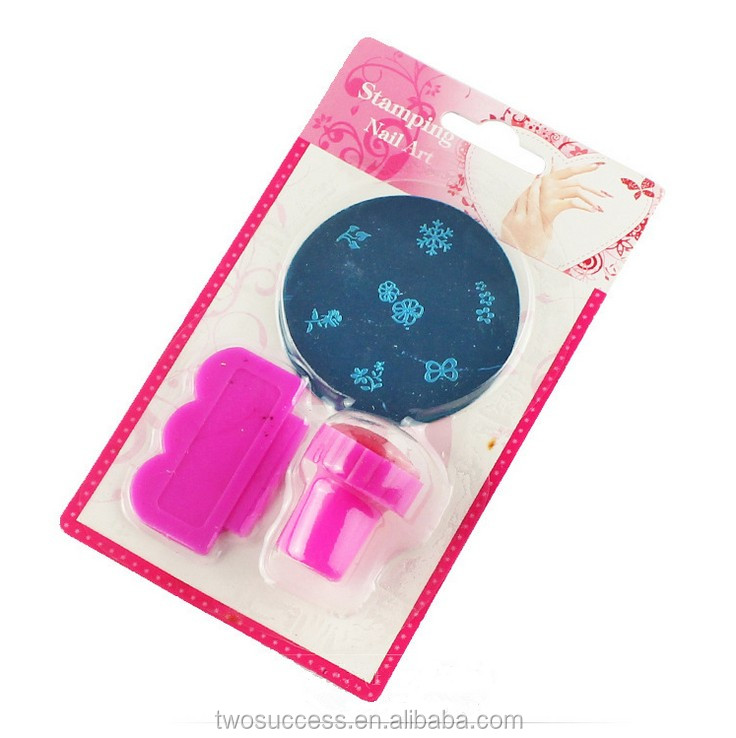 New hot very soft silicone transparent clear jelly nail art stamp nail scraper