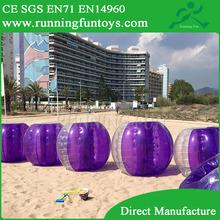 pvc/tpu inflatable billiard soccer ball for sale BB184