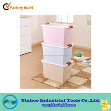 stackable cloth plastic storage box of transport with lid handle alibaba china