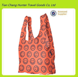 2015 cheapest cute animal lager resuable nylon foldable shopping bags