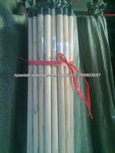 Hecho en China palo manejar cepillo de madera natural para las herramientas de aprendizaje