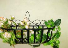 Large Curl Spear Wall Basket Garden Flower Planter