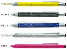 Werbemittel tool pen mit Kugelschreiber / Niveau / Schraubendreher / Herrscher / Stift