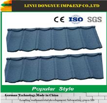 Soncap BV ISO certified fiberglass spanish roofing tiles stone coated steel roof tile