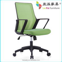 Mesh chair/Hot sales green color office chair/middle back chairs 817