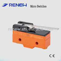 RX-10GR-B3 reverse hinge lever type 10a 250v micro switch/push micro switch