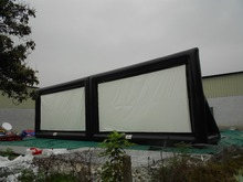 Best price with top quality in china Inflatable screen rental movie screen event