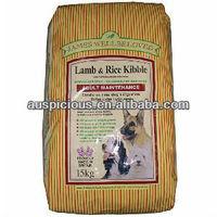BOPP Laminated Woven Poly Dog Feed Bag