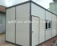 Beautiful practical steel structure container house