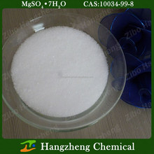 Magnesium Sulfate 7H2O Heptahydrate 99.5% Industrial Grade