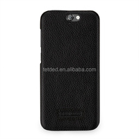 TETDED Premium Leather Case for HTC One A9 -- Caen (LC: Black)