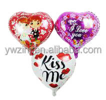 New babies heart shapes balloon helium balloon foil balloon with cheap price