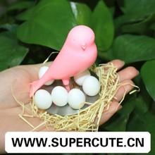 Hogar y Oficina decoración imán Rosa Sparrow huevo forma nevera