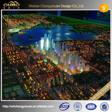 various scales customized Architectural model design with lighting system