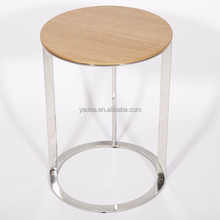 Wood furniture Frank end table coffee table