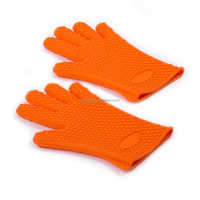 newest silicone oven mitts heat resistant silicone cooking gloves bbq silicone gloves