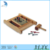 Clay Hammering Exercise Nursery Montessori kidsTeaching aids/equipment/toy/material