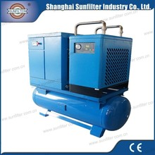 110KW direct driven rotary mobile compressor