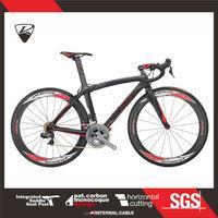 CKT 589 Black Gray Red Taiwan Carbon Road Bike