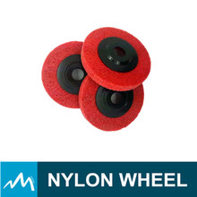 Promotional China factory price nylon polishing wheel