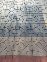Flagstone Top rubber paver